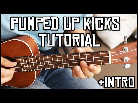 Pumped Up Kicks w Intro  UKULELE LESSON  Cookies Music