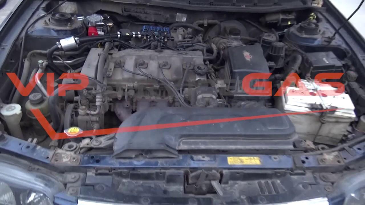 Mazda 626. Замена сальников клапанов без съёма ГБЦ - YouTube