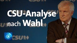 CSU nach der Wahl: Wie geht es weiter in Bayern?