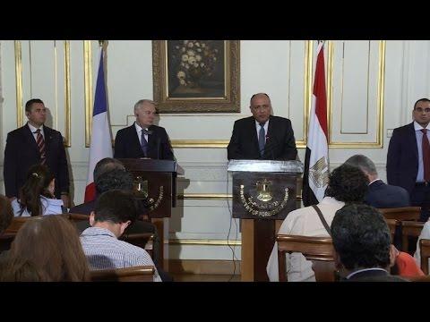 Egypt hails Paris initiative to revive Mideast peace talks