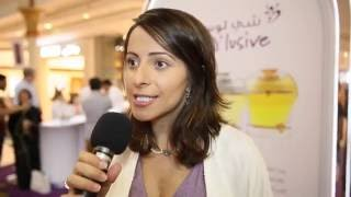 Olimpia Mascolo CO-founder of  anfasic dokhoon 2017 Video