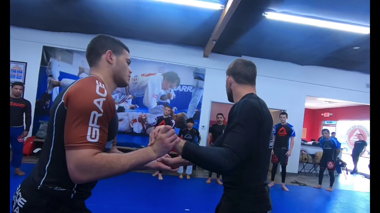 Hand Fight To Arm Triangles