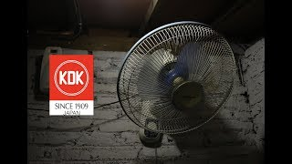 "16"" KDK wall fan"