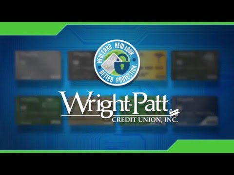 Wright-Patt Credit Union New Chip Card Designs