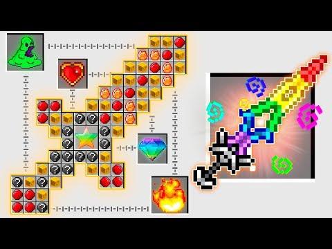 How to craft 5 NEW Minecraft God Swords!