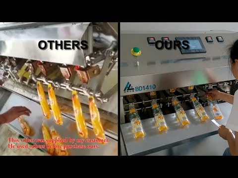 Semi-automatic Filling Machine for Juice/ Water/ Beverage plant