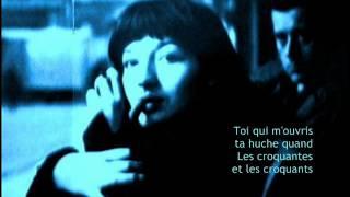 Juliette Greco - Chanson pour l