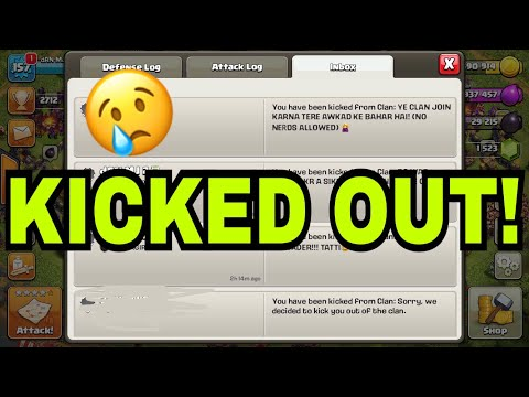 5 BEST WAYS TO GET KICKED OUT OF ANY CLAN | WE ALL FACED THEM!!!
