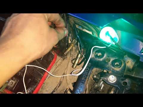 Cách Lắp đèn Xinhan Led Nháy Kiểu K4 Cho Exciter 150
