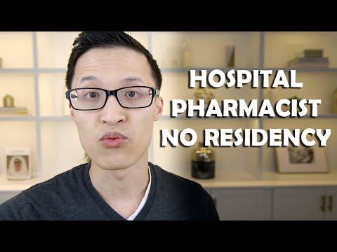 Hospital Pharmacist with No Pharmacy Residency