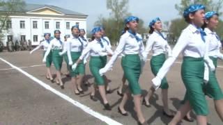 видео: Парад на День защитника Отечества. оралжын 2017.
