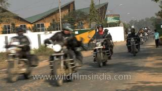 Royal Enfield Bullet sees HOG culture in North East India!