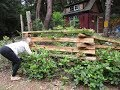 How to build a Cedar Snake Rail Fence