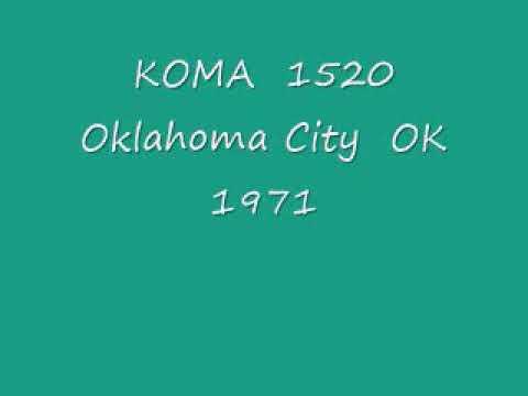 KOMA 1520 Oklahoma City OK  1971