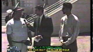 Various Interviews at Jalsa Salana Canada 1997