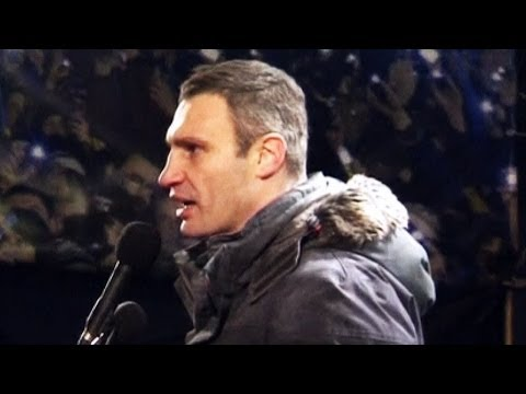 FullHD Vitali Klitschko UKRAINE KIEV VIOLENT PROTESTS JANUARY 2014 Riot 1080p