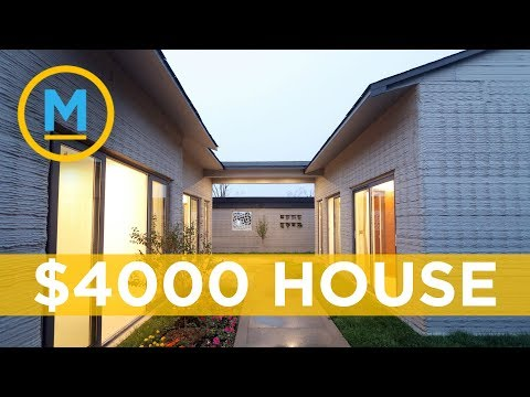 This Company Can Build Move-in Ready Houses Using A 3D Printer | Your Morning