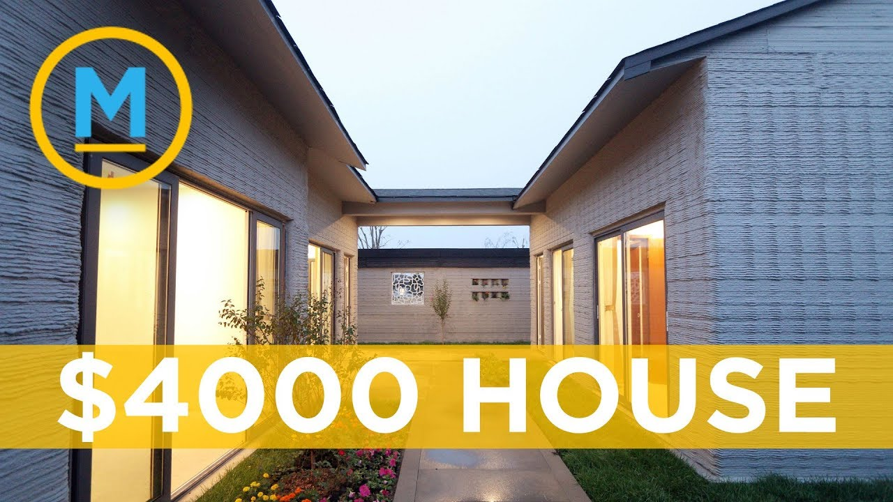 This Company Can Build Move In Ready Houses Using A Printer Your Morning