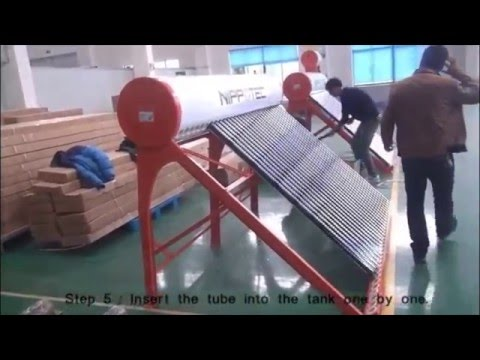 Installation Guide for Nippotec Solar Water Heater- NSH 326