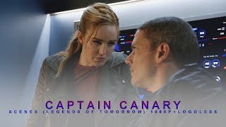 All Captain Canary Scenes [1080p+Logoless] (Legends Of Tomorrow)