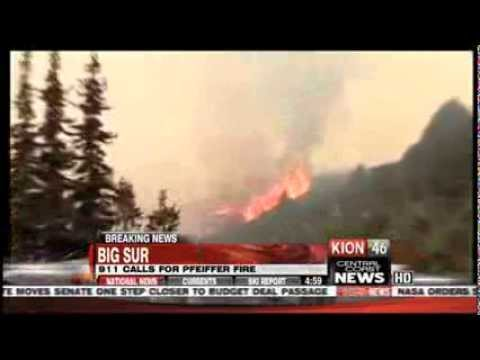 911 Calls Released for Big Sur Fire