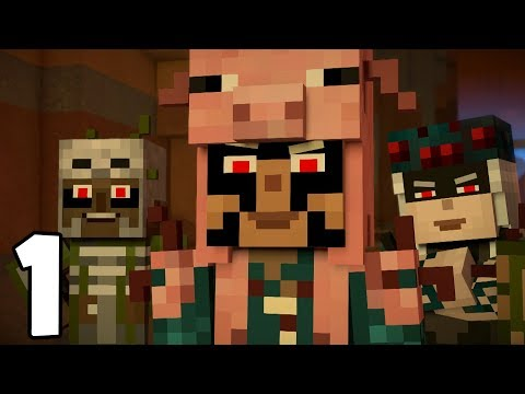 Minecraft Story Mode: Season 2 - Episode 4 - THE MEANIES! (1)