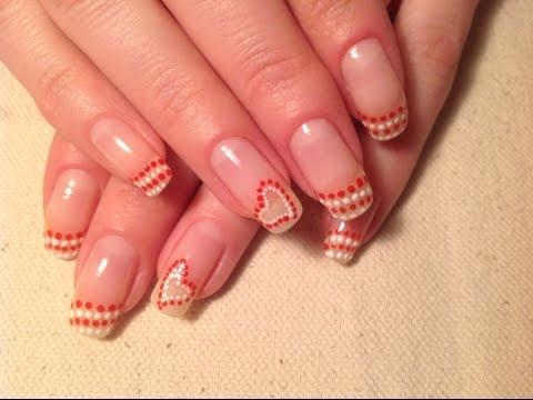 Рисунки на ногтях в домашних условиях! Очень красиво!
