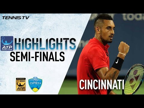Highlights: Kyrgios, Dimitrov Reach Masters 1000 Final In Cincinnati 2017