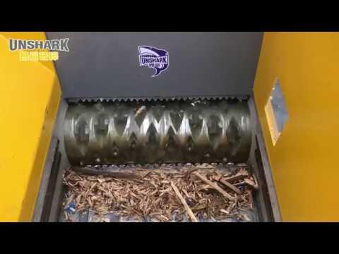 Enerpat Wooden Pallet Single Shaft Shredder