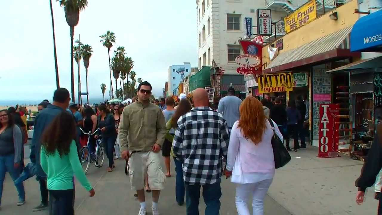 Sights And Sounds Of Venice Beach California Spring Break 2017 You