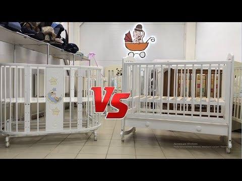 Круглая кроватка трансформер VS классика