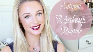 Autumn Bold Lip Makeup Tutorial / Routine   |  Fashion Mumblr