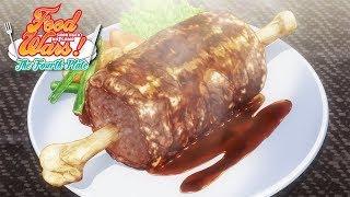 Yukihira&#39s Caveman Meat  Food Wars! The Fourth Plate