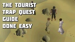 Runescape 2007 - The Tourist Trap Quest Guide - Quest Guides Done Easy - Framed