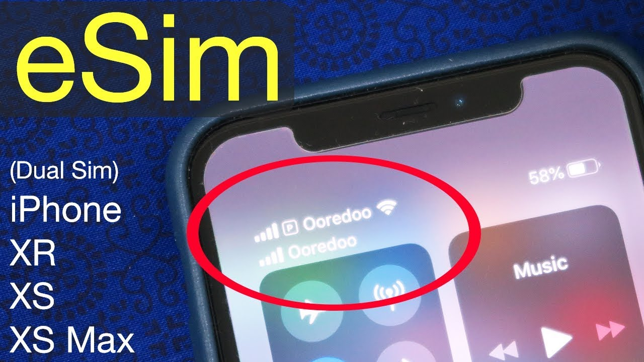 How to Use Dual SIMs on an iPhone XR, XS, or XS Max