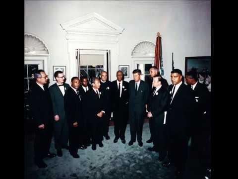JFK Tapes -  MLK, John Lewis, LBJ, Civil Rights Leaders Meeting