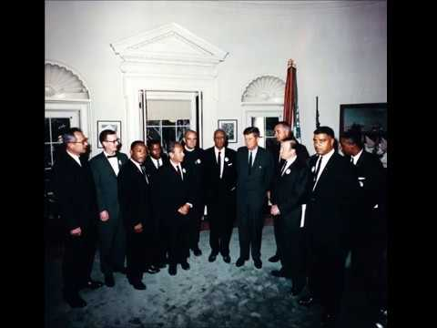 JFK Tapes -  MLK, John Lewis, LBJ, Civil Rights Leaders Meeting