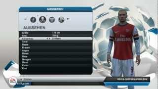 Fifa 13 | Spieler erstellen - Für mein Lets Play mit Arsenal London