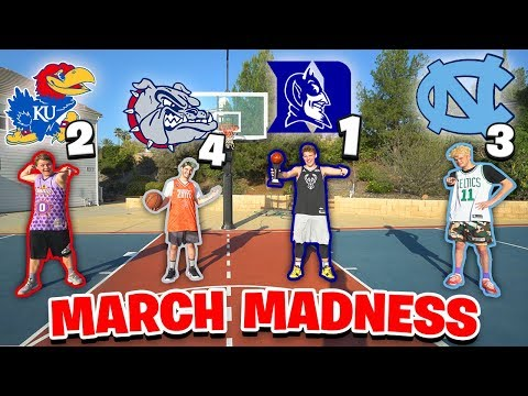 EPIC MARCH MADNESS BASKETBALL CHALLENGES!