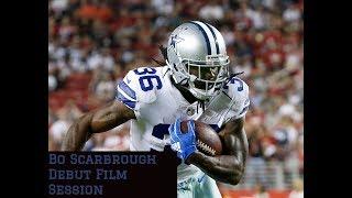 Dallas Cowboys Film Session || Bo Scarbrough Film Session