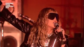 Miley Cyrus - Nothing Breaks Like a Heart (Live at Primavera Sound) HD Video