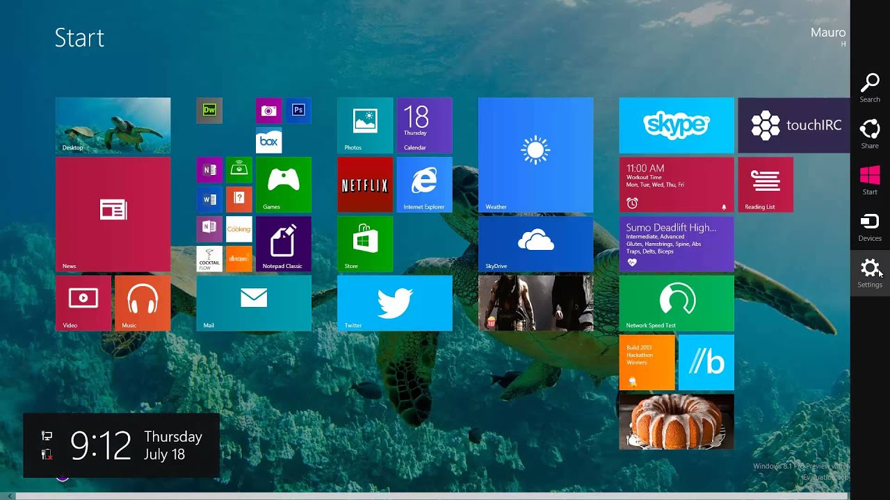 how to set desktop wallpaper as the start screen background in windows 8 1