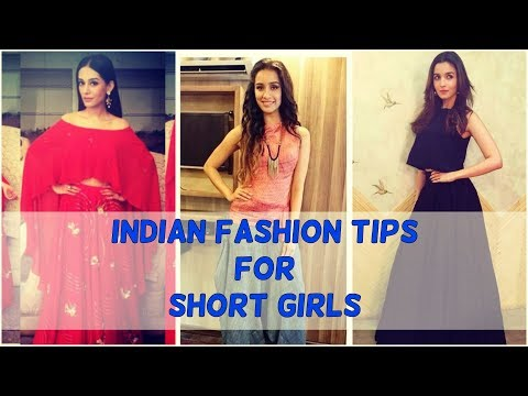 Fashion tips for short girls to Style Indian Wear
