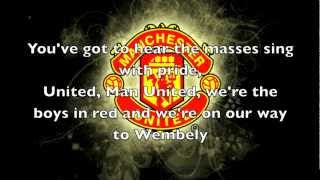Glory Glory Man United!