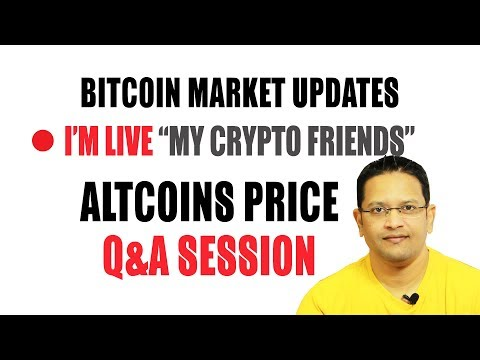 Bitcoin Market Update.  LIVE Altcoins Price  Discussion Using my Sniper & Ultimate Signal Indicators