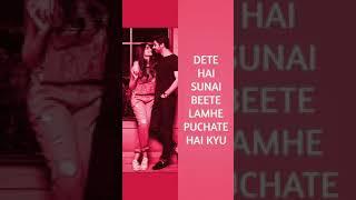 Download Lagu Tere Yado Me Likhe Jo Lafz Dete Hai Sunai Part 1 Full Screen Romantic Status MP3