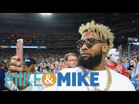 Odell Beckham Jr. NFL's Biggest Celebrity Under 30?   Mike & Mike   ESPN