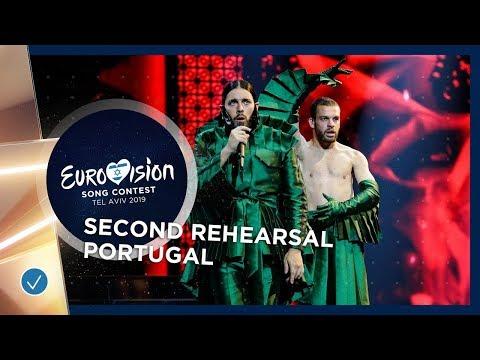 Portugal 🇵🇹 - Conan Osiris - Telemóveis - Exclusive Rehearsal Clip - Eurovision 2019