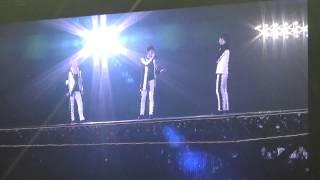 141223 JYJ in Fukuoka Ment Full 20mins.