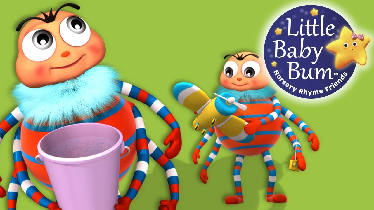 Incy Wincy Spider Little Baby Bum Nursery Rhymes For